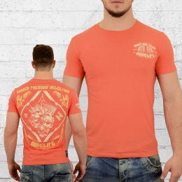Yakuza Premium T-Shirt Herren Hunting Club orange
