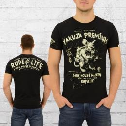 Yakuza Premium T-Shirt Herren Mad Rat schwarz