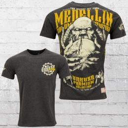 Yakuza Premium T-Shirt Herren Medelin YPS 2211 grau