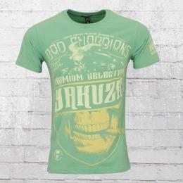 Yakuza Premium T-Shirt Männer Bad Guardians 2204 pastell grün