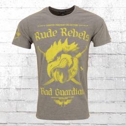 Yakuza Premium T-Shirt Männer Bad Guardians YPS 2101 grau