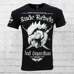 Yakuza Premium T-Shirt M�nner Bad Guardian YPS 2101 schwarz