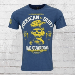 Yakuza Premium T-Shirt Männer Mexican Dust 2210 blau