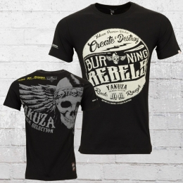 Yakuza Premium T-Shirt Männer Rebels schwarz