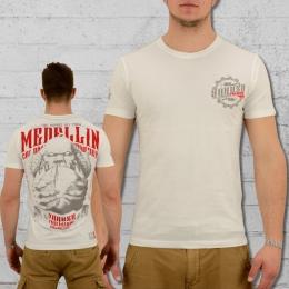 Yakuza Premium T-Shirt Medellin 2211 weiss