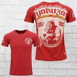 Yakuza Premium T-Shirt Trouble Entertainment YPS 2100 rot