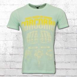 Yakuza Premium Vintage T-Shirt Corcoran türkis grün 3XL