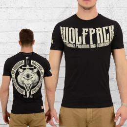 Yakuza Premium Wolfpack Herren T-Shirt 2212 schwarz