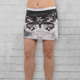 Yakuza Rock Damen Moth Skirt GRB 8127 weiss