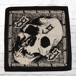 Yakuza Skull Bandana Rocker Tuch schwarz