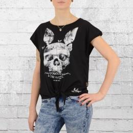 Yakuza T-Shirt Damen Bunny Knot GSB 9108 schwarz