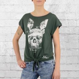 Yakuza T-Shirt Frauen Bunny Knot GSB 9108 grün
