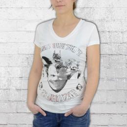 Yakuza T-Shirt Frauen Joker GSB 7105 weiss