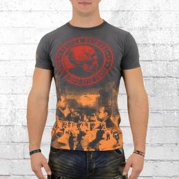 Yakuza T-Shirt Herren 893 Babagna TSB12016 Italian Job grey