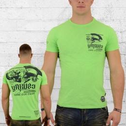 Yakuza T-Shirt Herren 893 Babagna TSB12018 Trojan grün