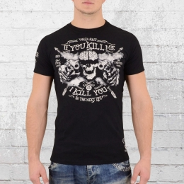 Yakuza T-Shirt Herren Kill Me TSB9012 schwarz 5XL
