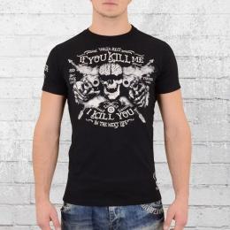 Yakuza T-Shirt Herren Kill Me TSB9012 schwarz