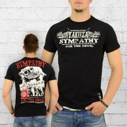 Yakuza T-Shirt Herren Sympathy TSB 8011 schwarz