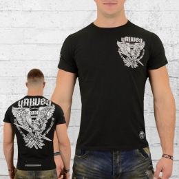 Yakuza T-Shirt Men Eagle TSB 12020 black