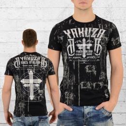 Yakuza T-Shirt Männer Inked in Dark Blood TSB 9018 schwarz
