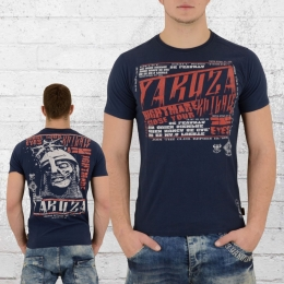 Yakuza T-Shirt Männer Nightmare TSB 9009 dunkelblau