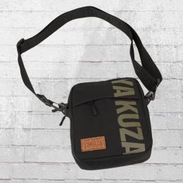 Yakuza Tab Shoulder Bag Männer Handtasche schwarz