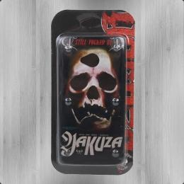 Yakuza Handy Hülle HTC One YCB 447 Skull schwarz