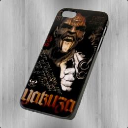 Yakuza Handy Hülle iPhone 5 YCB 448 Devil schwarz