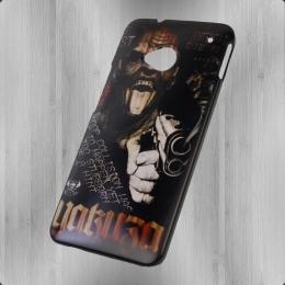 Yakuza Handy Hülle HTC One YCB 448 Devil schwarz