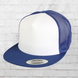 Yupoong by Flexfit Classic Trucker Snapback Cap royal weiss royal blau