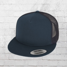 Yupoong Classic Trucker Snapback Cap blau