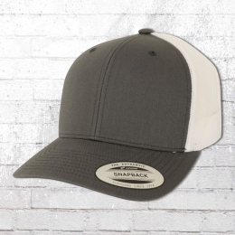 Yupoong Trucker Cap 2 Tone Mütze grau weiss