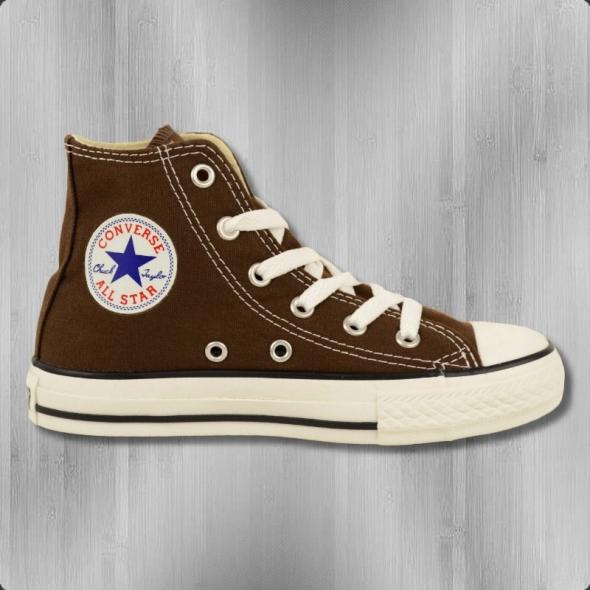 Converse Kinder Schuhe 3P626 Chuck Taylor High braun