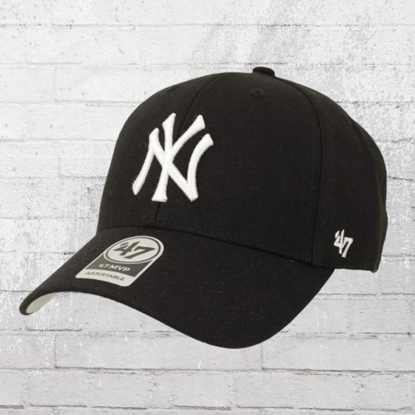47 Brands Baseball Cap NY Yankees Strapback Mütze schwarz