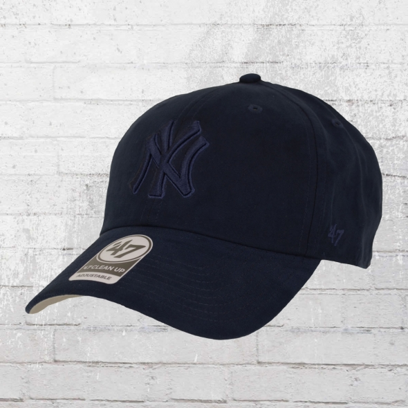 47 Brands MLB Ultrabasic Clean Up Cap NY Yankees blau
