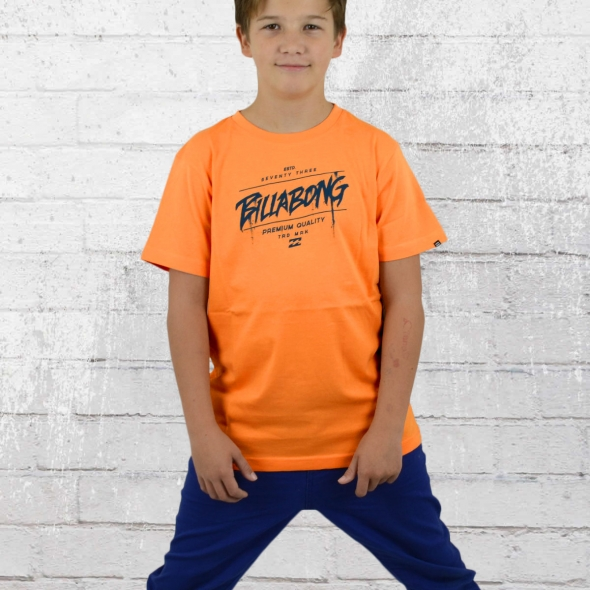 Billabong Kinder T-Shirt Reprise orange