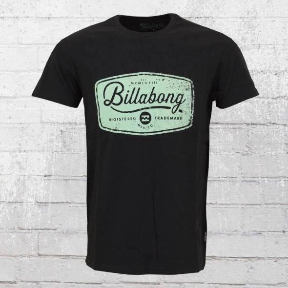 Billabong Pits Top T-Shirt Herren schwarz