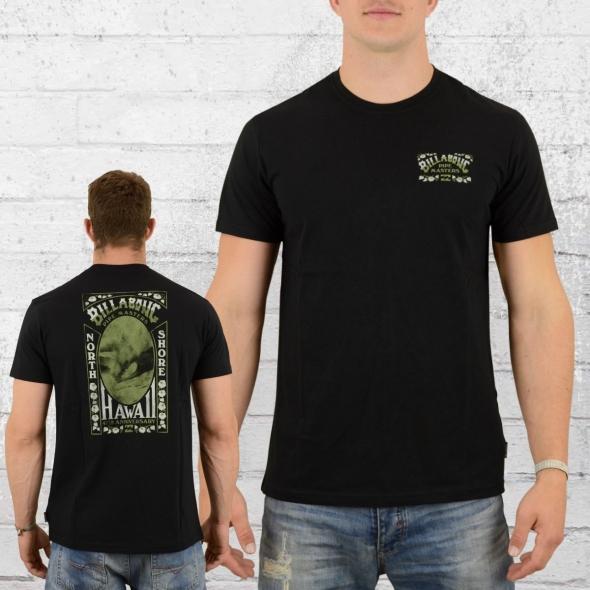 Billabong T-Shirt Vintage Masters Tee schwarz