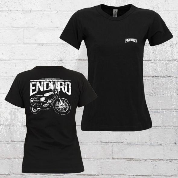 Bordstein Damen T-Shirt S51 Enduro 2 schwarz
