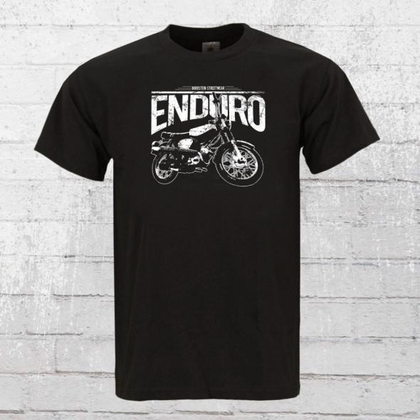 Bordstein Männer T-Shirt S51 Enduro schwarz