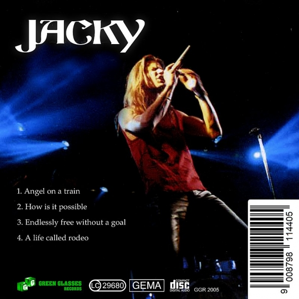 Jacky The Band CD Angel On A Train Nachauflage