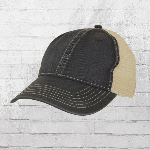 Comfort Colors Tea Dyed Trucker Cap schwarz