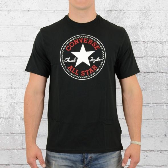 Converse Core Chuck Patch T-Shirt Männer schwarz