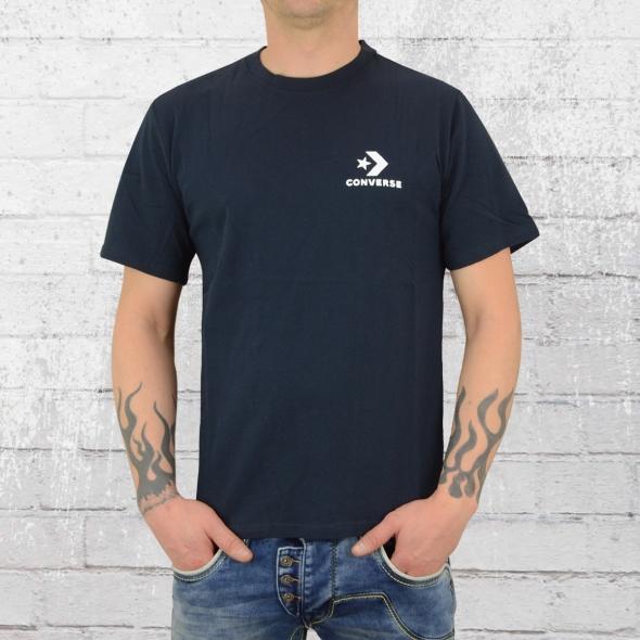 Converse Männer T-Shirt Left Chest Star Chevron blau