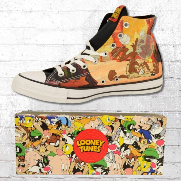 Converse Schuhe CT High Looney Tunes Coyote Roadrunner