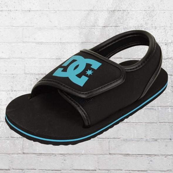 DC Shoes Toddler Bathing Shoe Sandals Toddlers Bolsa Kids black blue