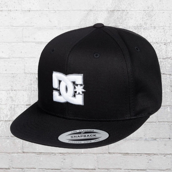 DC Shoes Kinder Cap Snappy Yupoong schwarz
