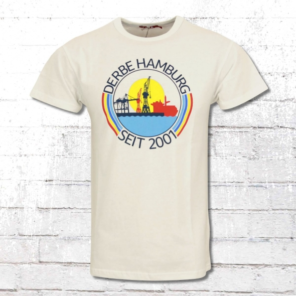 Derbe Hamburg T-Shirt Hafenring Boys weiss