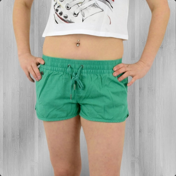 All About Eve Damen Shorts Essential Hot Pants teal