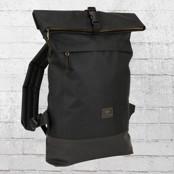 Freibeutler Laptop Rucksack Courier Bag schwarz